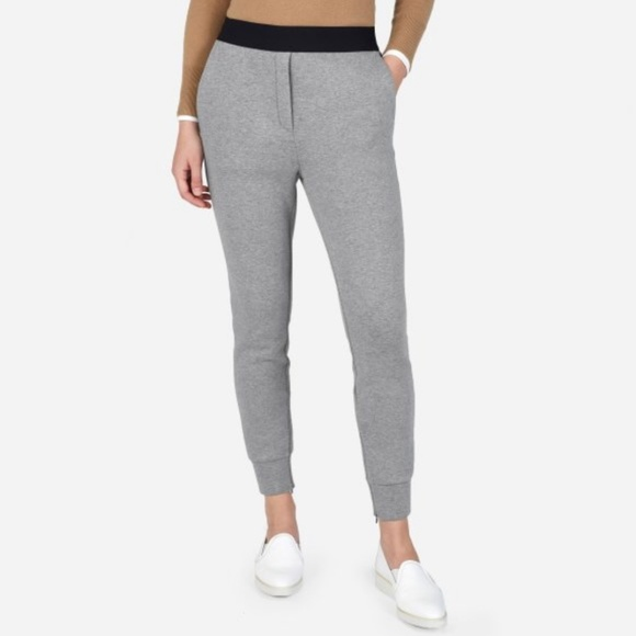 Everlane Pants - Everlane Street Fleece Pant in Grey Size M